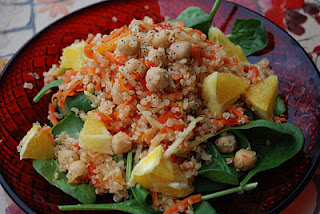Sesame Ginger Quinoa