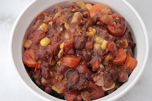 Adzuki Bean Chili and Stirfry