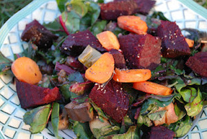 Roasted and Seasoned Root Vegetables