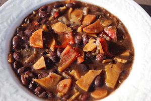 Black Bean Soup, Vegan, Gluten Free