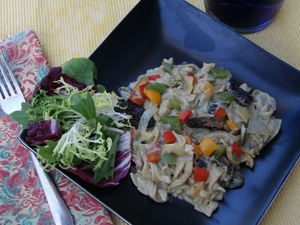 Gourmet Mushrooms Recipe Creates Creamy Saute