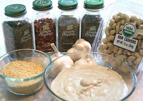 Cashew Cream Sauce (Raw, Vegan, Gluten Free)