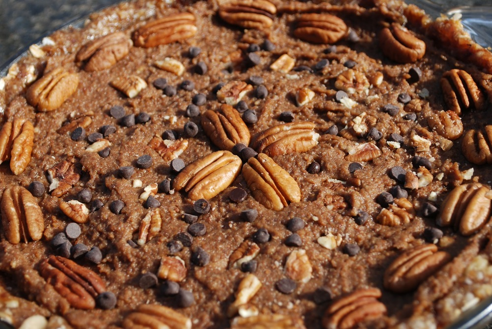Easy No-Bake Pecan Pie