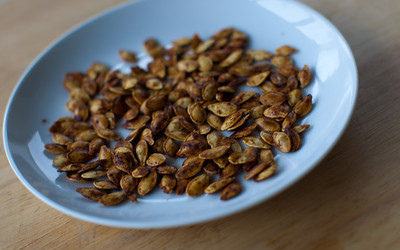 Sweet or Spicy Pumpkin Seeds
