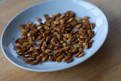 Sweet or Spicy Pumpkin Seeds