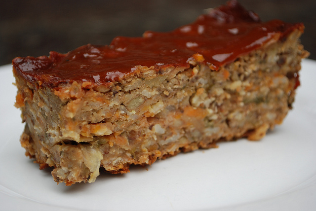 "Parent and Kid Approved: Vegan Lentil ""Meatloaf"""