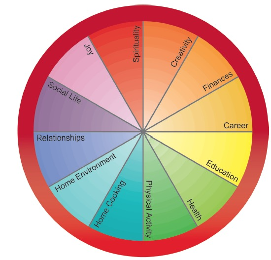 Health Coaching Tools: The Wellness Wheel