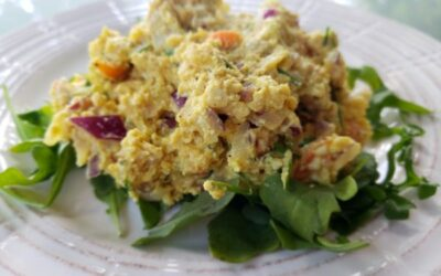Eggless Tuna-Free Salad